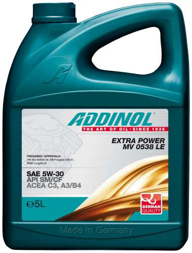 ADDINOL EXTRA POWER MV 0538 LE