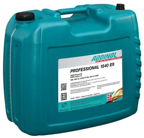 ADDINOL PROFESSIONAL 1540 E9
