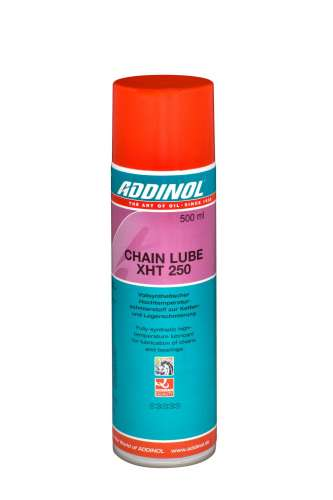 ADDINOL CHAIN LUBE XHT 50 SPRAY, XHT 250 SPRAY, XHT 3000 SPRAY