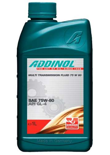 ADDINOL MULTI TRANSMISSION FLUID 75 W 80