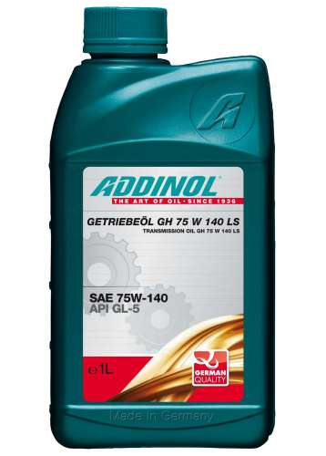 ADDINOL GETRIEBEOL GH 75 W 140 LS