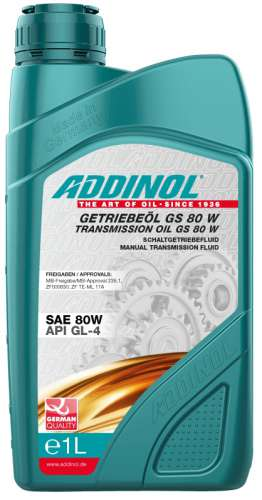 ADDINOL GETRIEBEOL GS 80 W
